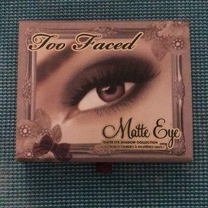 Too Faced Matte Eye Palette